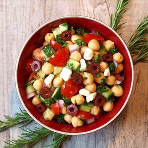 Italian Garbanzo Salad Recipe