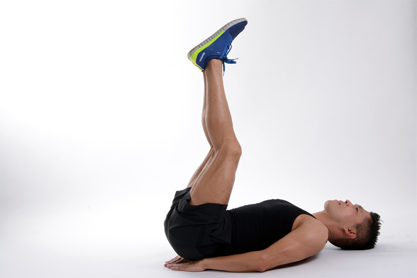 Leg Raise Exercise for Lower Abs