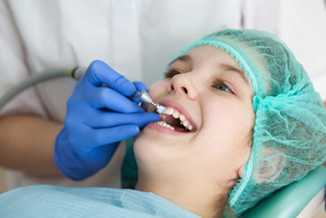 Fluoride Treatment for the Kids