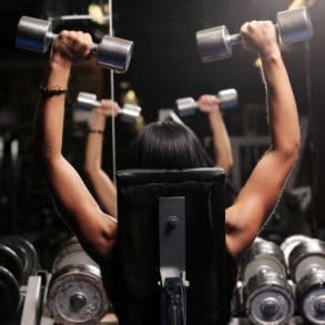 Arm Muscle Building Workouts with Dumbbells